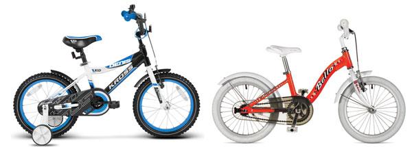 выбор размера детского велосипеда для ребёнка размер колеса
