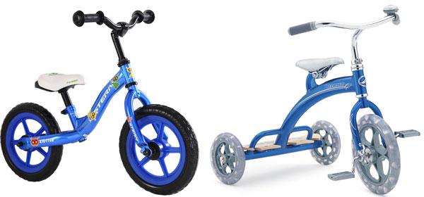 выбор размера детского велосипеда для ребёнка