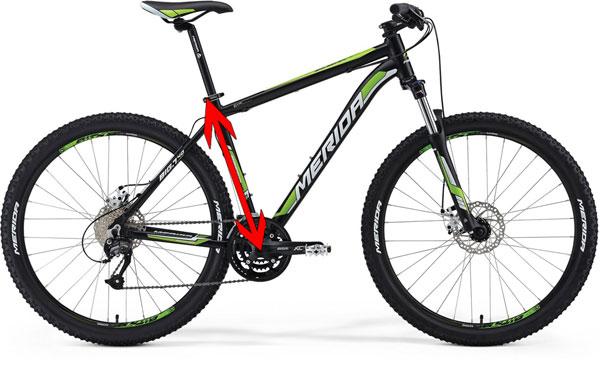 выбор рамы велосипеда ростовка
